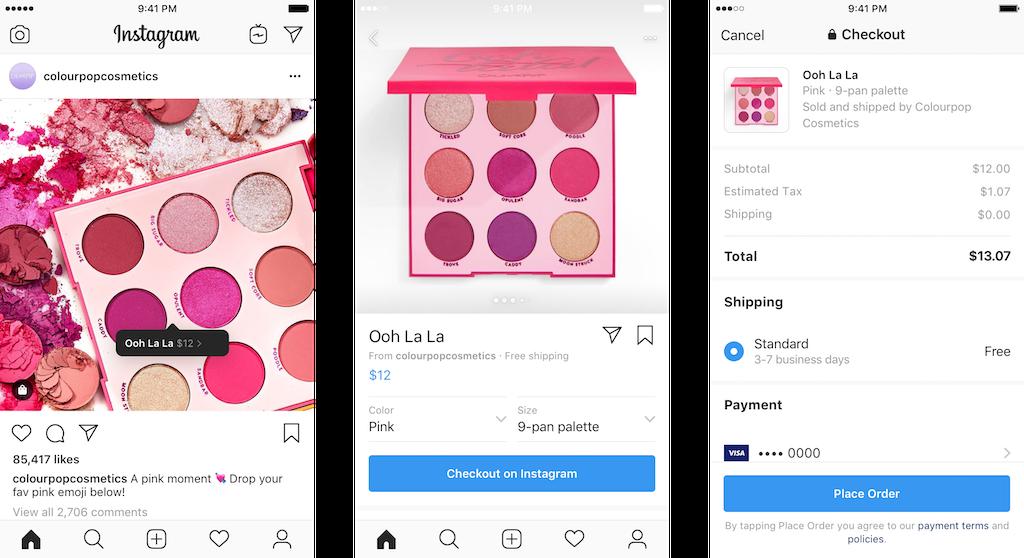 kupowanie na instagramie